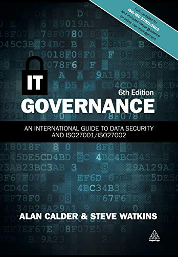 IT Governance: An International Guide to Data