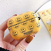 ZHUANGXIUE Earphone Case For Airpods Pro 3 Case Drew House Smiley Bluetooth Headphone Headset Protective Cover With Hook for Airpods 1/2/3 (Color : Multicolor)