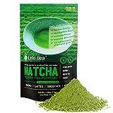 Life·tea Green matcha tea,Matcha tea powder,Stone grinding Premium matcha 100% pure natural green tea,137x Antioxidant Brewing Green Tea Authentic Eastern Origin,Increased Energy and Focus