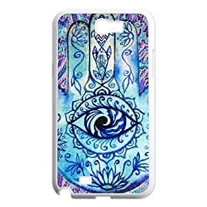 Hamsa DIY Cover Case for Samsung Galaxy Note 2 N7100,customized Hamsa Phone Case