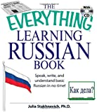 Everything Learning Russian Book With Cd