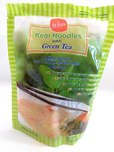 Sea Tangle Noodle Company, Kelp Noodles with Organic Gree...