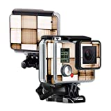 MightySkins Protective Vinyl Skin Decal Cover for GoPro Hero Camera Digital Camcorder wrap Sticker Skins Vintage Blocks