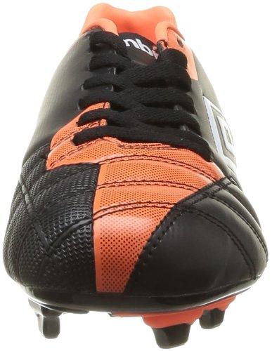 Umbro Decco Fg - Botas de Fútbol de material sintético hombre negro - Noir (Cgz Noir/Orange/Blanc)