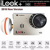 Walkera iLook+ HD 1080P 60FPS 12MP Wide Angle 5.8G FPV Aerial Photography Camera -CN#b4err4-gr4e g145e105587
