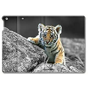 Baby Tiger 002 Leather Cover for iPad Air,iPad 5 by supermalls