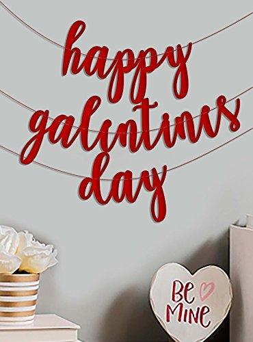 Dia De San Valentin Decoracion Galentine Banner Guirnalda De - Decoracion-san-valentin