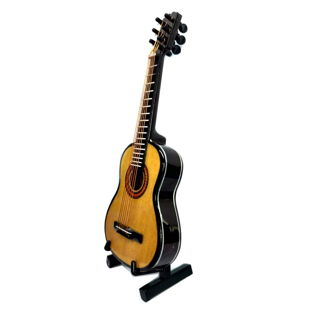 Madera Guitarra en miniatura guitarra Musical adorno de duplicado ...
