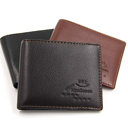 Carte Portefeuille Clair Banque Sac Du Courte black Jtsyhles Entreprises Multifonctionnelle Brun De 1AWqAB6U