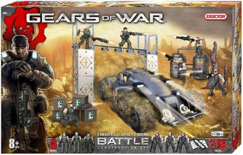 Erector Gears of War Locusts vs. Delta Squad Battle Construction Set by Erector