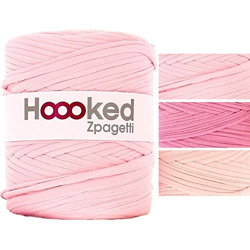 Hoooked ZP00-1-5 Zpagetti Yarn-Cherry Blossom for sale  Delivered anywhere in USA