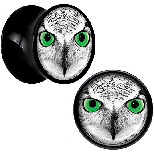 00 gauges plugs owl - 2