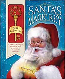SANTA/'S MAGIC KEY FOR CHRISTMAS EVE BOX HANDMADE KEY//POEM NOVELTY GIFT