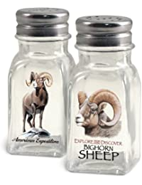 Access American Expedition Glass Salt and Pepper Shaker Sets (Bighorn Sheep) wholesale