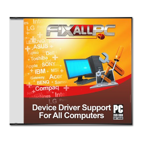 Fixallpc Laptop/PC Driver repair for HP compaq presario V3000 notebook p ()