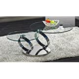 J and M Furniture 17841 C205 Modern Swiveling Coffee Table