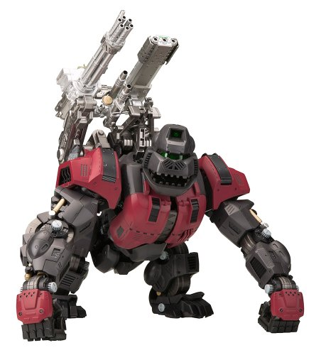ZOIDS EZ-015 Iron Kong Schwarz Specification [1/72 Scale Plastic (015 Iron)