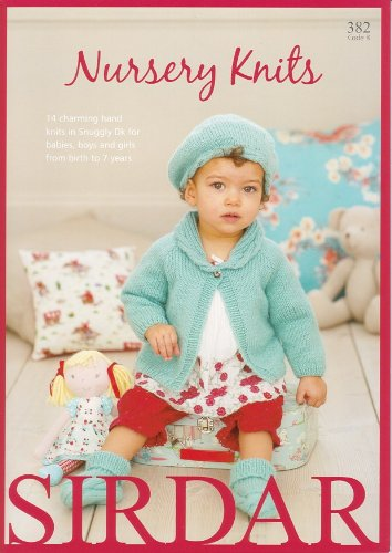 Sirdar Knitting Pattern Book 382 - Nursery Knits