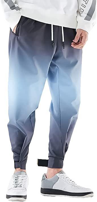MrTom Pantalon Chino Hombre Largos Algodón Pantalones Deportivos ...