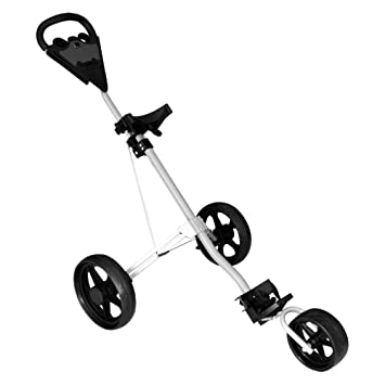 EVERAIE Carrito de Golf, Carro de Golf Giratorio Plegable 3 ...