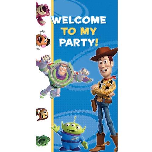 Amscan - 994014 - Décoration de Fête - Décoration de Porte Toy Story - 1, 65 m x 85 cm Guirlandes Cotillons et Confettis