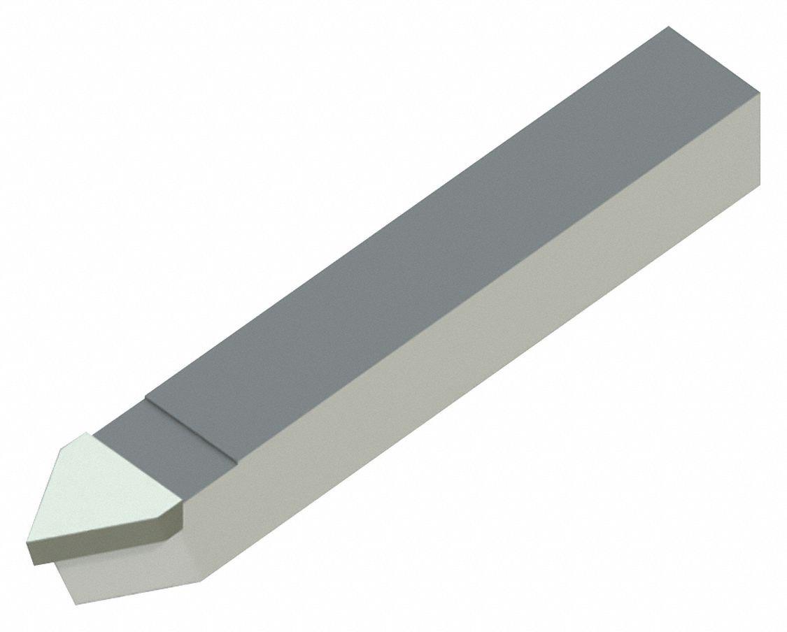 3//4 Length 3//4 Width 3//4 Width 3//16 Thick 4.5 Length 3//4 Height Micro 100 E-12 Brazed Tool Square Shank DiameterStyle E