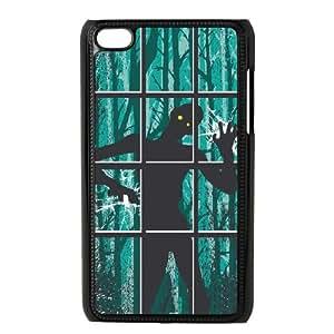 iPod Touch 4 Case Black ZOMBIE APOCALYPSE OJ530497