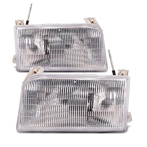 HEADLIGHTSDEPOT Compatible with Tiffin Allegro Bay 2001-2003 Motorhome RV Pair Front Headlights Set (Tiffin Rv)
