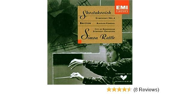 Shostakovich: Symphony No  4 / Britten: Russian Funeral