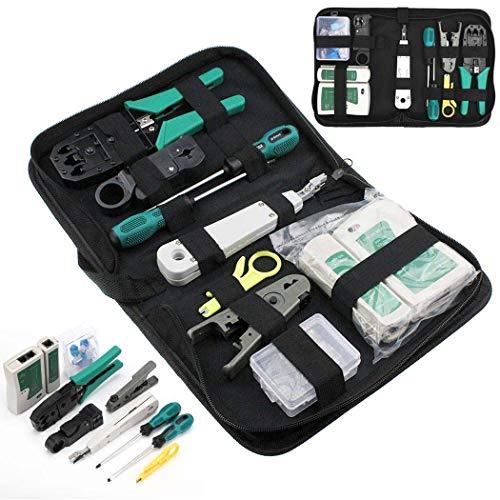 11 in 1 Professional Network Computer Maintenance Repair Tools Kit