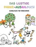 Das lustige Pankie-Ausmalbuch: Ausmalbuch für Erwachsene