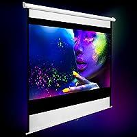 TecTake Pantalla para proyector 16:9 4:3 HD desplegable - Varios ...