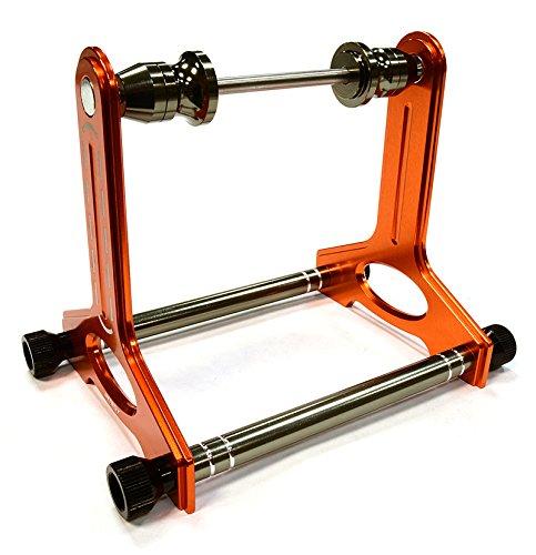 Integy RC Model Hop-ups C25925ORANGE Magnetic Type Balancer for 1/12, 1/10 & 1/8 Vehicles (150mm O.D. Max)
