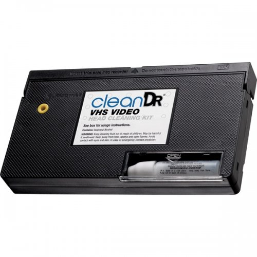 Digital Innovations 6012800 CleanDr VHS Video Head Cleaning Kit