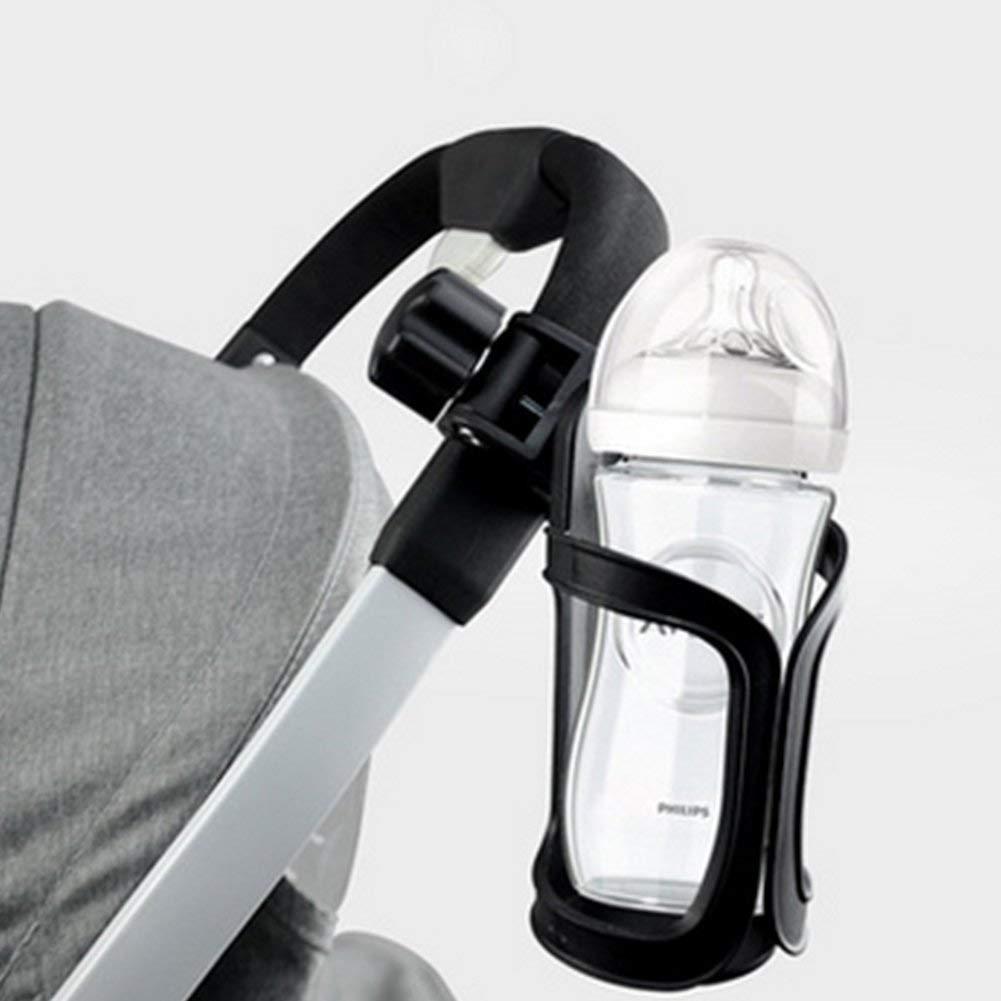 joizo Kinderwagen-Cup-Halter-Universalbecherhalter 360 Grad Drehung Anti-Rutsch-Becherhalter f/ür Baby Trinken Kinderwagen Kinderwagen Fahrrad-Rollstuhl-Motorrad