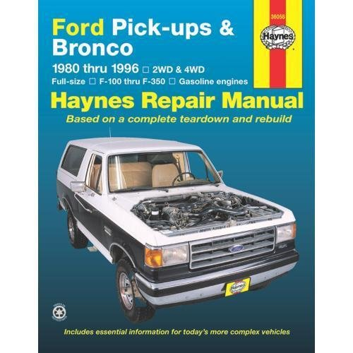 Cat Parts Manual (Ford Pick-ups & Bronco 1980 thru 1996 2WD & 4WD Full-Size, F-100 thru F-350 Gasoline Engines (Haynes Manuals))