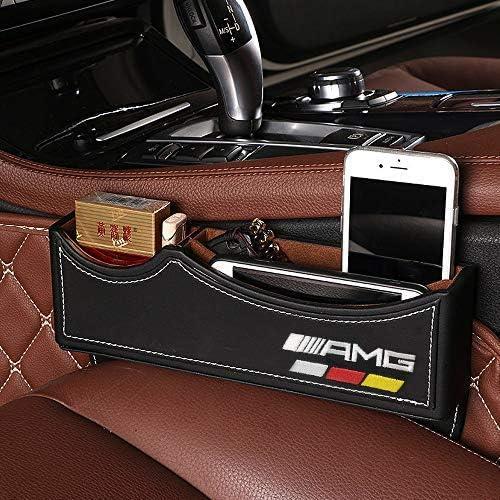 2 St/ück Autositz-Aufbewahrungsbox f/ür Mercedes Benz AMG Premium-PU-Leder Unbekannt Yika Autositz-Spaltf/üller Sitz-Organizer