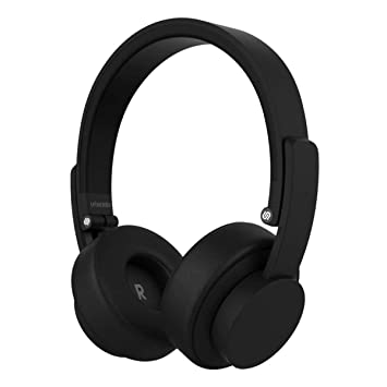 Urbanista Seattle Bluetooth Headphones [ SIGNATURE URBANISTA SOUND ], Up to  12 Hours Play Time, Call-Handling with Microphone - Dark Clown