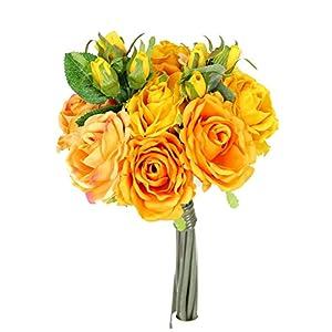 Rose Silk Flower Bouquet 89