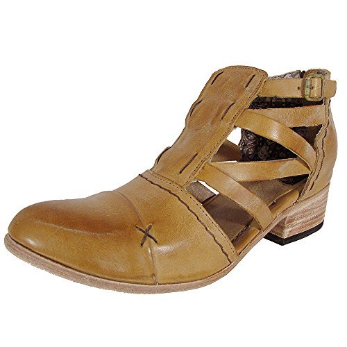 Freebird by Steven Womens FB-Hope Strappy Bootie Shoes, Camel, US 7