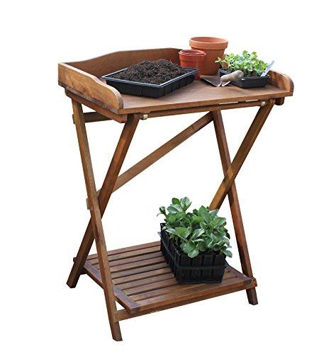 Tierra Garden 50-5500 Haxnicks Hardwood Potting Bench
