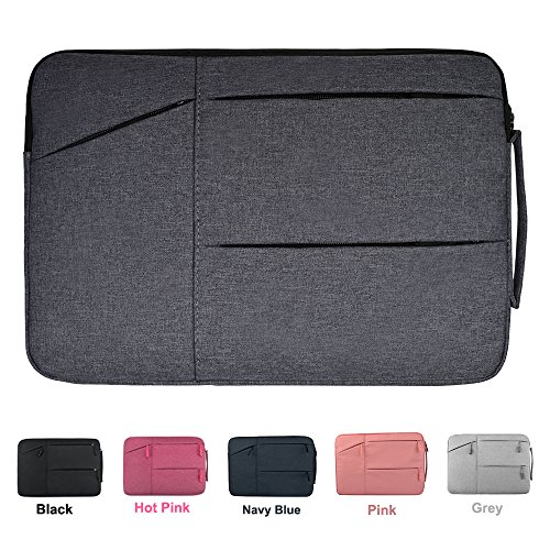14-15.4 Inch Premium Water Repellent Laptop Sleeve for MacBook Pro 15 2017, Lenovo Yoga 910 14