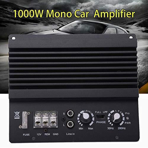 YaeCCC 1000W Car Audio High Power Amplifier Amp Board Powerful Bass Sub woofer Board 12V