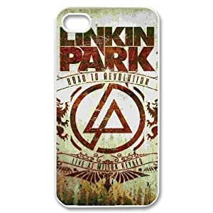 HXYHTY Customized Print Linkin Park Pattern Back Case for iPhone 4/4S