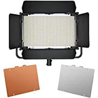 Neewer 900 LED Professional Photography Studio Video Light Panel Camera Photo Lighting U Shape Bracket