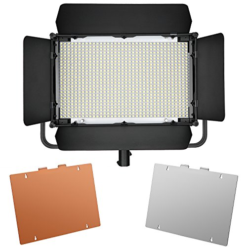 Neewer 900 LED Professional Photography Studio Video Light Panel Camera Photo Lighting U Shape Bracket by Neewer