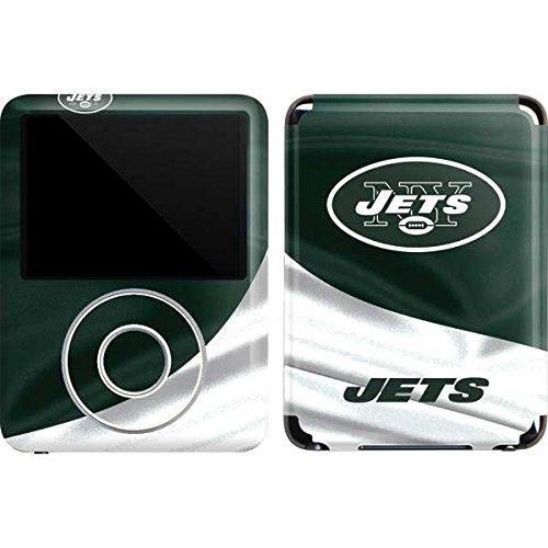 Skinit Protective Skin for iPod Nano 3G (NFL New York Jets Logo) (Skin New Ipod Jets York)