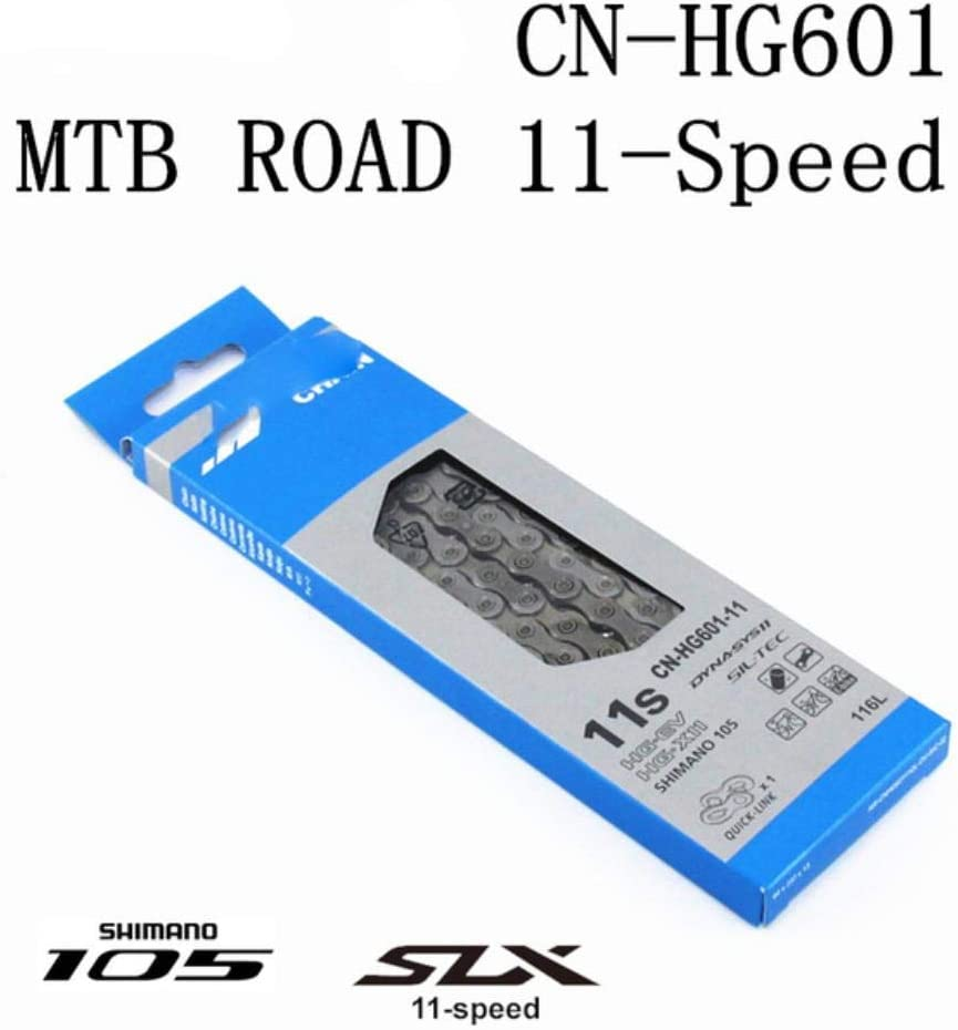 WOOAI 105 SLX HG601 HG600 Cha/îne 11 Vitesses VTT V/élo Cha/îne CN-HG601 VTT V/élo de Route 5800 Les cha/înes M7000 HG601 112L Pas de bo/îte