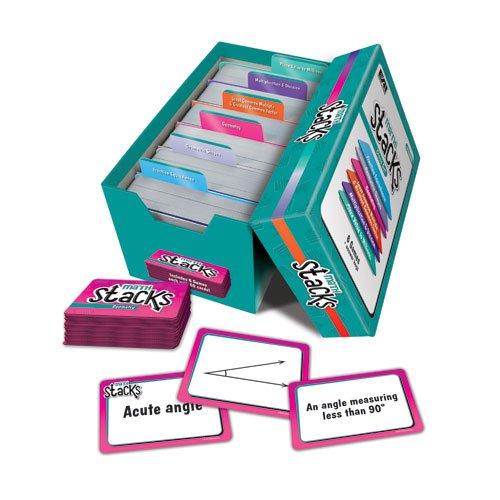 Game Education - EAI Education Math Stacks Classroom Game, Set of 6: Grades 3-5