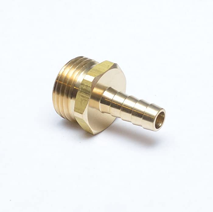 FP193-6 Brass Straight Male 3/8